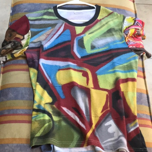 21c10e61c36f Shirts | Graffiti Full Subliminal Ion Custom Shirt Street | Poshmark